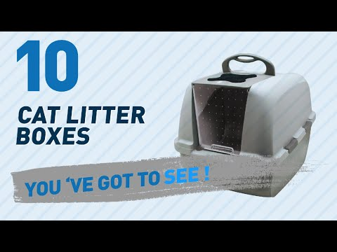 Top 10 Cat Litter Boxes // Pets Lover Channel Presents: