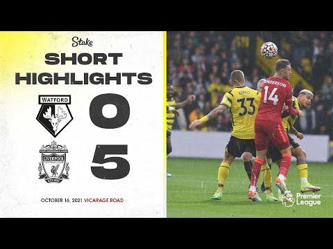 Watford 0-5 Liverpool | Short Highlights