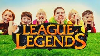 DZIECI W LEAGUE OF LEGENDS