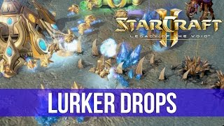 StarCraft 2: Legacy of the Void - Lurker Drops! (Game Analysis)