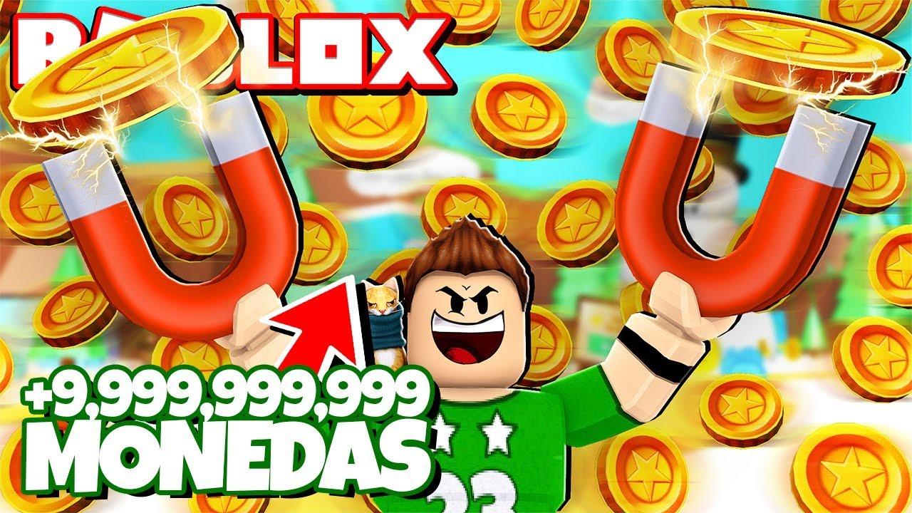 Conseguimos 9 999 999 999 De Dinero En Roblox Roblox Magnet