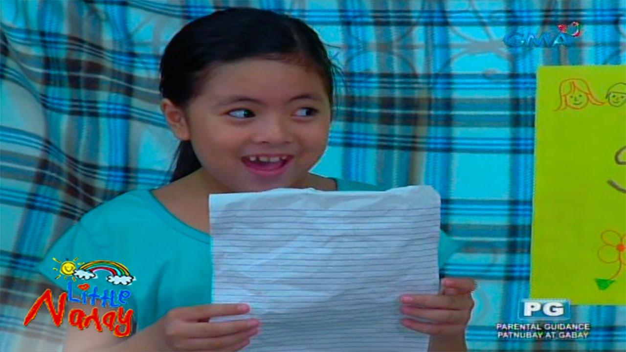 Little Nanay: Chiechie's thank you speech