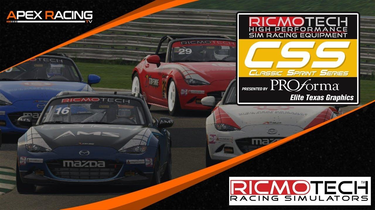 iRacing | Ricmotech Classic Sprint Series | Round 1 at Road Atlanta