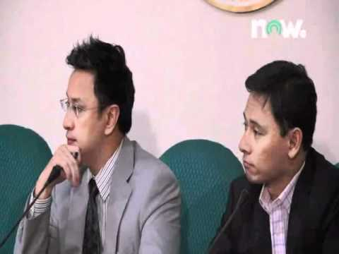 Press Conference: Prosecution Reps. Erin Tañada, Sonny Angara & Atty. Miro Quimbo (Part 1) 02-02-12