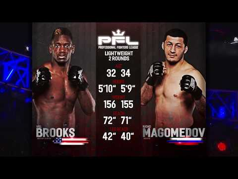 PFL Full Fight Friday: Rashid Magomedov vs. Will Brooks from PFL Playoffs: Long Beach