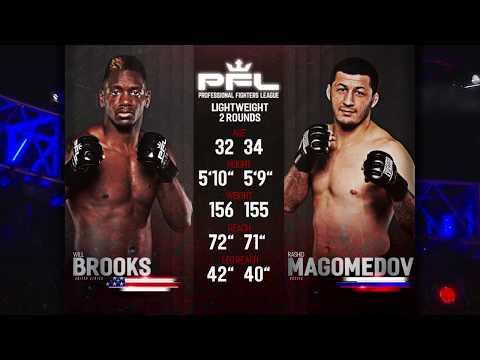 PFL Full Fight Friday: Rashid Magomedov vs. Will Brooks from PFL Playoffs: Long Beach