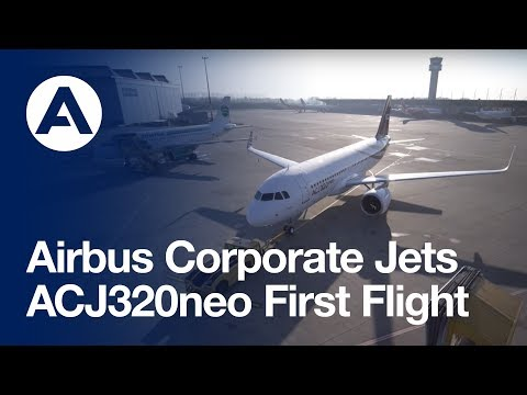 First ACJ320neo performs its first flight