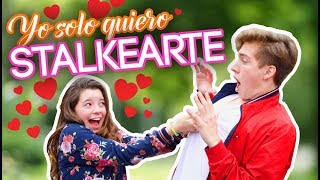 PARODIA MUSICAL: YO SOLO QUIERO STALKEARTE Video