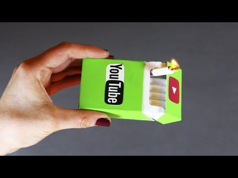 Easy Magic Trick With a Pack of Cigarettes