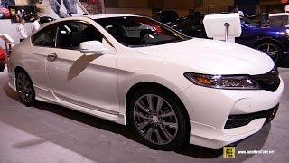 2016 Honda Accord Touring V6 Coupe - Exterior, Interior Walkaround - 2016 Ottawa Gatineau Auto Show