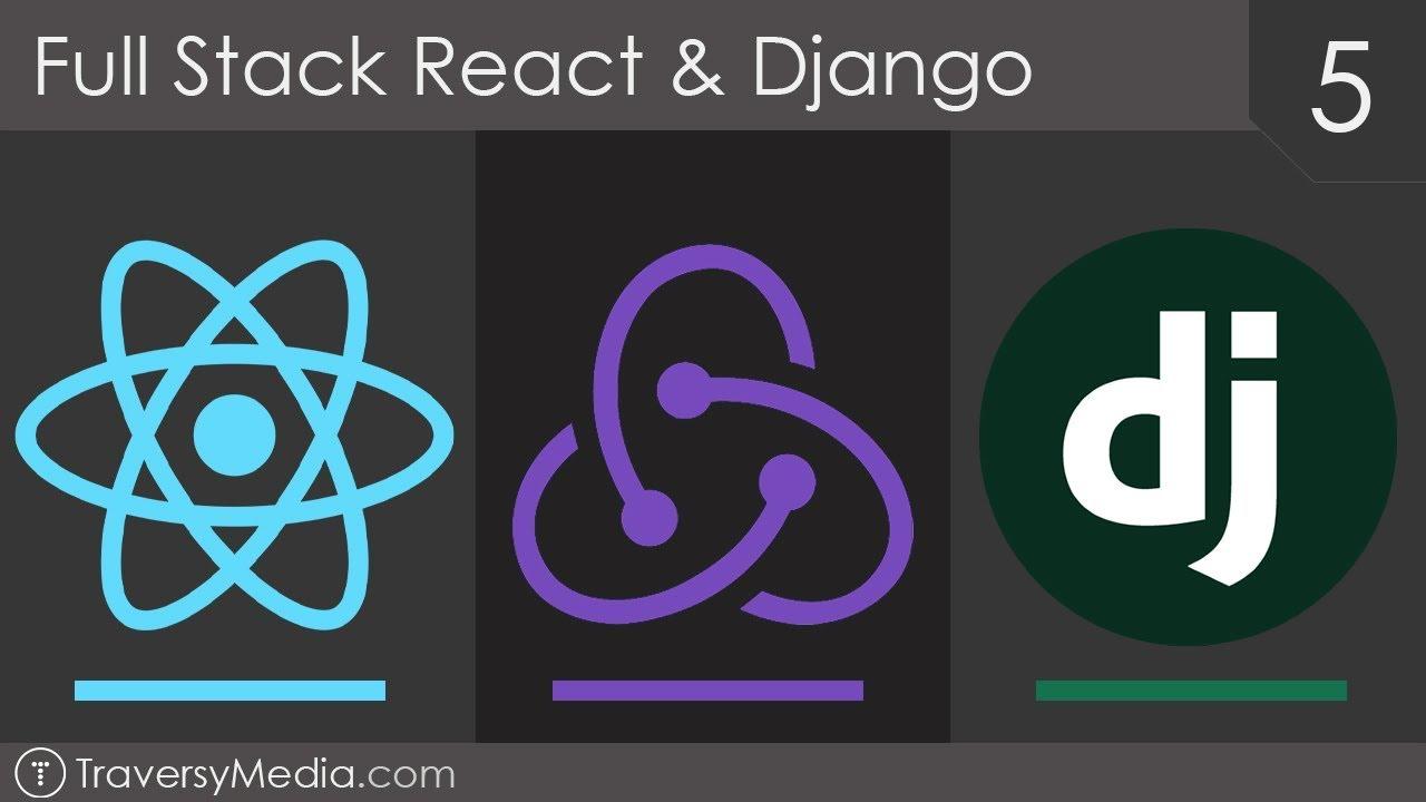 Full Stack React & Django [5] - Django Token Authentication