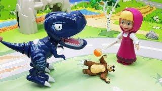 Видео для детей с игрушками Маша - Сон. Новые игрушечные мультфильмы для малышей