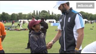 liam plunkett joins in at the english tamil cricket league festival