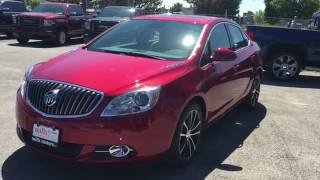 2016 Buick Verano Sedan FWD 18' Rims Red Oshawa ON Stock# 160993