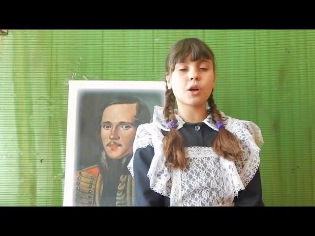 Изображение предпросмотра прочтения – ЛенаКостюкова читает отрывок изпроизведения «Бородино» М.Ю.Лермонтова