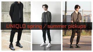 Spring Techwear & Streetwear Pickups from Uniqlo