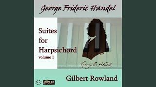Harpsichord Suite in A Major, HWV 454: I. Allemande