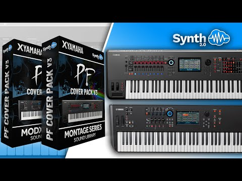 PF COVER PACK V2 | PINK FLOYD SOUND BANK | YAMAHA MOTIF / XS / XF / ES / MO