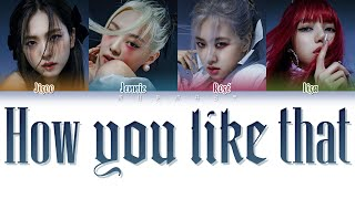 Download song BLACKPINK - How You Like That (Color Coded Lyrics Eng/Rom/Han)