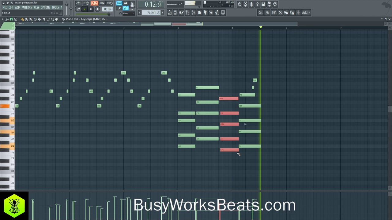 how to change scale in fl studio