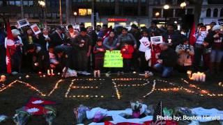 Boston prays for Nepal