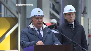 В Приморском крае открыто серийное производство крупнотоннажных танкеров класса «Афрамакс»