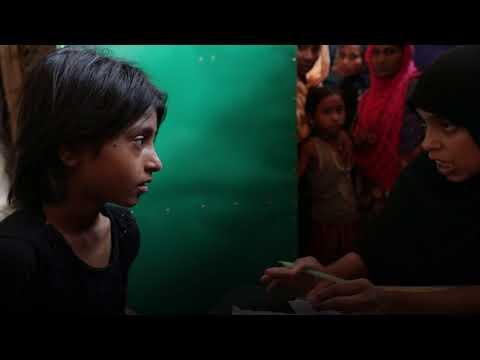 David Miliband meets Rohingya refugees enduring the monsoon in Bangladesh