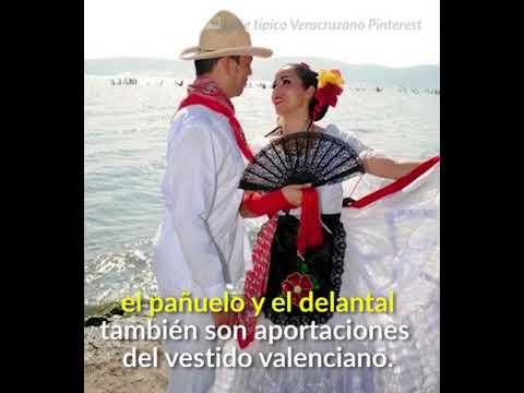 Traje Típico De Veracruz Para Mujer Y Hombre Historia