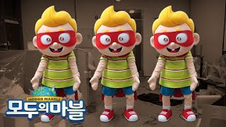 Mascot costume | 着ぐるみ |  'MODOO MARBLE' game Character costume ★suit up funny costume☆ (ENG SUB)