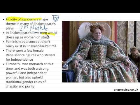 Shakespeare: Feminism & Gender (Part 1) | A-level English Literature | AQA, OCR, Edexcel
