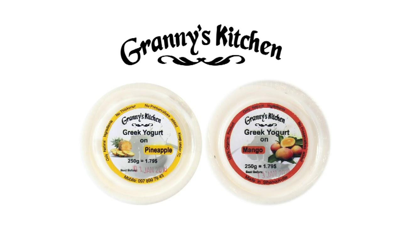 Granny\'s Kitchen Yogurt - YouTube
