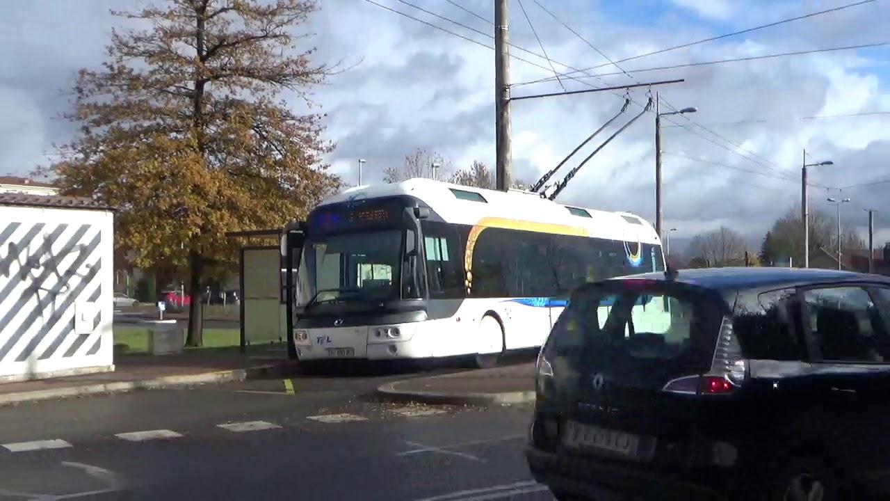 Trolleybus de Limoges Décembre 2019