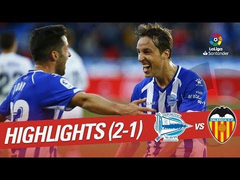 Highlights Deportivo Alaves vs Valencia CF (2-1)