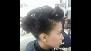 Bella Beauty College: Amazing Prom Hairstyle Thumbnail