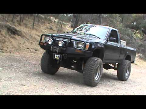 91 toyota 4x4 4 lift youtube. Black Bedroom Furniture Sets. Home Design Ideas