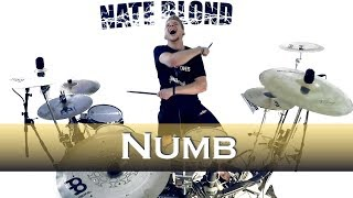 Linkin Park - Numb - Drum Cover (Wild Cards Remix)