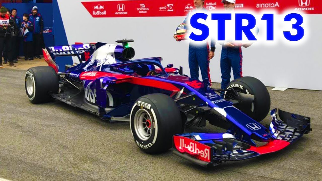 nuevo toro rosso f1 2018 youtube. Black Bedroom Furniture Sets. Home Design Ideas