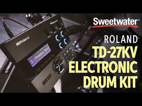 Roland TD-27KV Electronic Drum Kit Demo