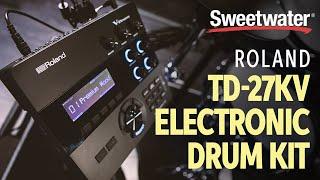 Roland TD-27KV Electronic Drum Kit Demo