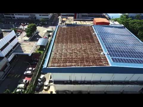 Antah SPA(Syarikat Pesaka Antah) Drone Video-Solar Panels 70kw