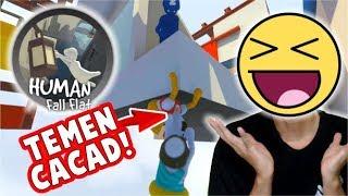 GAME G*BL*K TEMENNYA JUGA SAMA (NGAKAK ONLINE) ! - HUMAN FALL FLAT #2