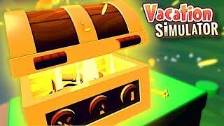 FINDING HIDDEN PIRATE TREASURE! - Vacation Simulator VR Gameplay
