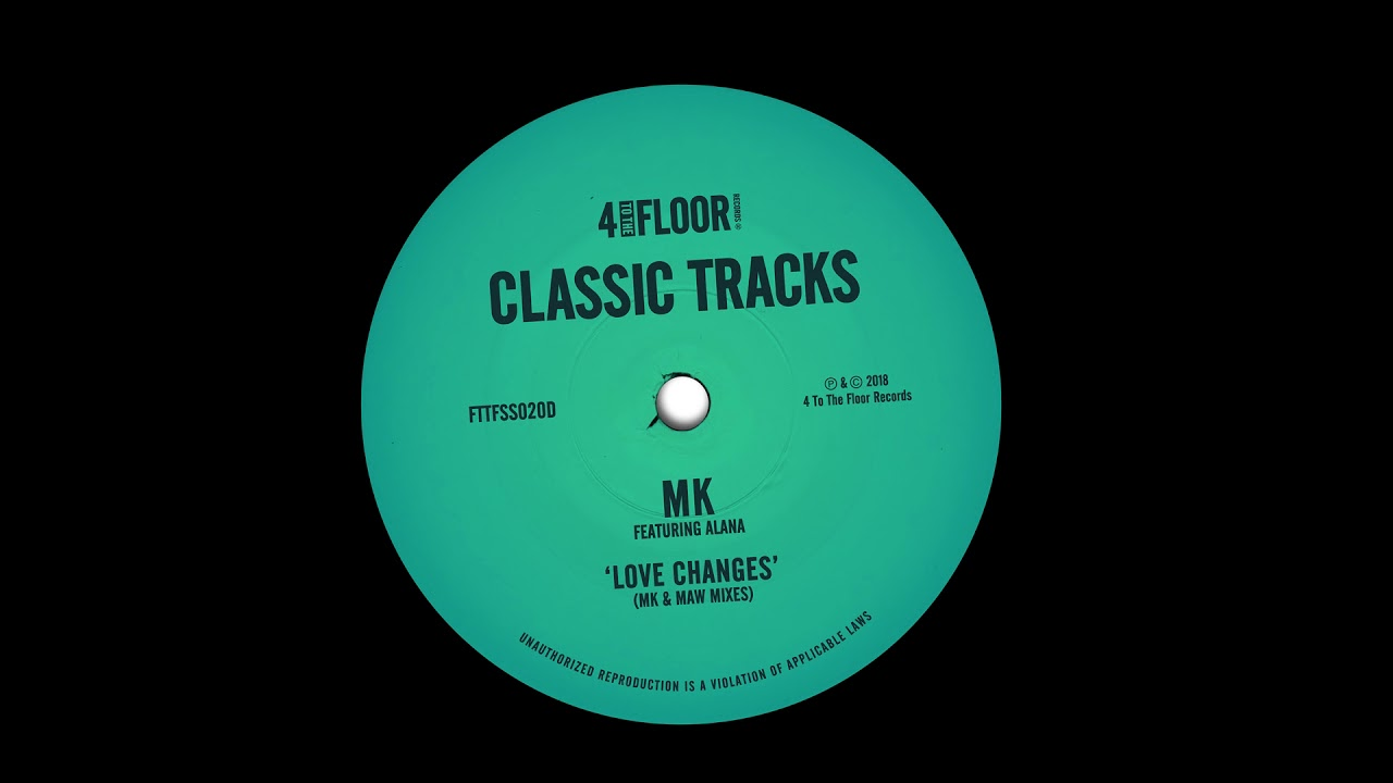 Download MK featuring Alana 'Love Changes' (MK Mix)