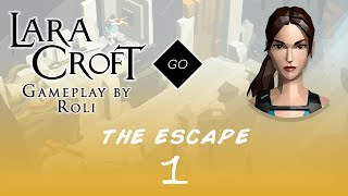 Lara Croft GO - The Escape #1 - A Closing Door