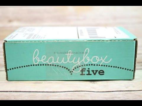 Beauty Box 5 December 2016 Unboxing + Free Eyeshadow