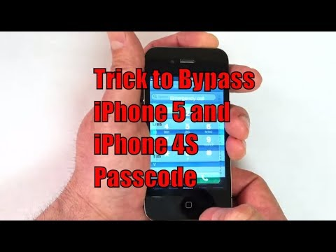 How to Bypass iPhone 5 and iPhone 4S Passcode - YouTube