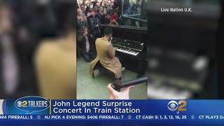 John Legend Surprise Concert
