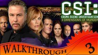 CSI 3 Dimensions Of Murders - Walkthrough #3   Case Two Closed
