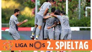 Last-Minute-Sieg bringt Porto die Tabellenführung   Highlights   Liga NOS - 2. Spieltag