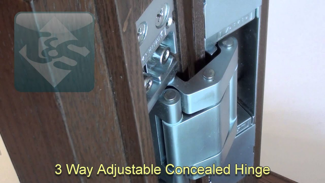 Sugatsune 3 Way Adjustable Concealed Hinge